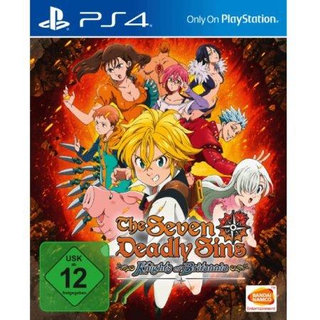 The Seven Deadly Sins - Knights of Britannia (PS4) für 21,98€ inkl. Versand
