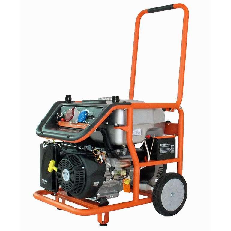 Fuxtec Stromerzeuger FX-SG7500B (Elektrostart, 6500 Watt, 380V und 230V Anschluss) je 594,15€ (statt 718€)