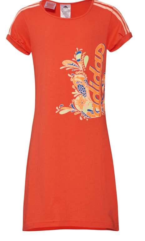 adidas LG RI Mädchen Kleid in Rot für 9,99€inkl. Versand (statt 30€)