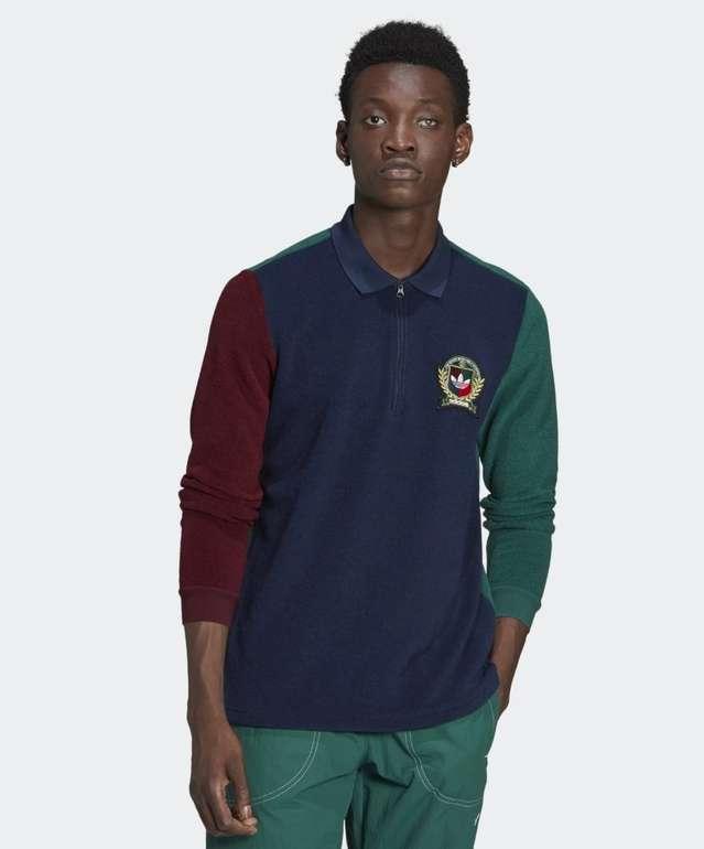 Adidas Originals Collegiate Crest Herren Poloshirt für 29,40€ inkl. Versand (statt 47€)