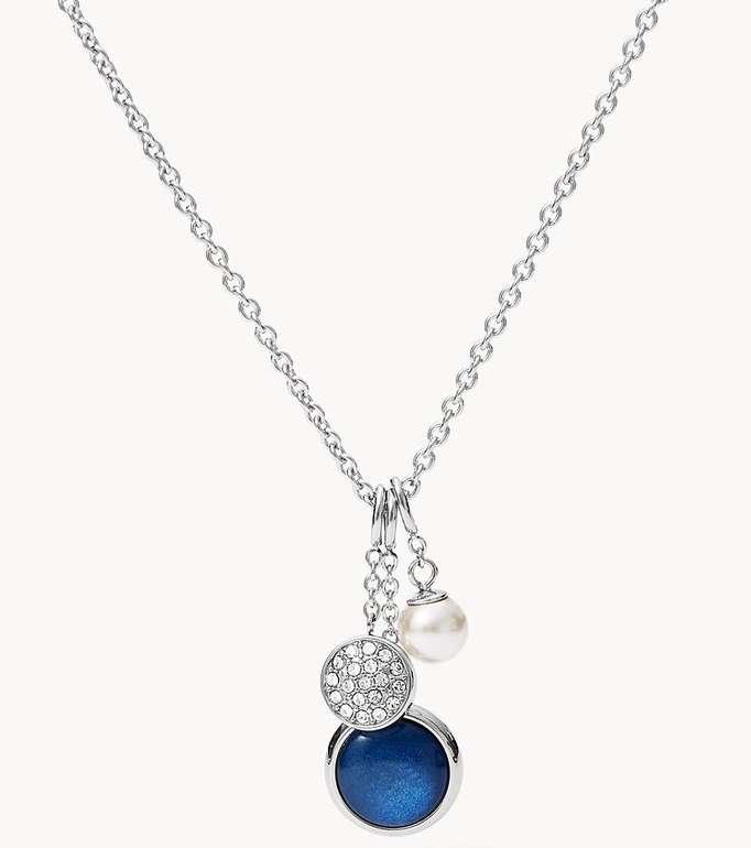 Fossil Damen Halskette Trio Pendant (JF03250040) für 19,55€ inkl. Versand (statt 40€)