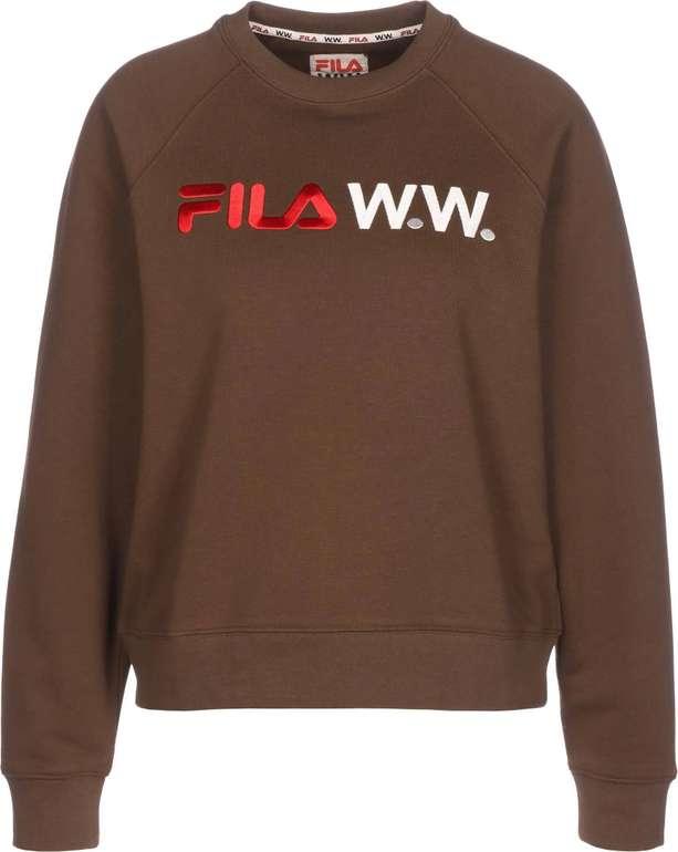 "Fila Sweatshirt ""Elena"" in Dunkelbraun für 22,43€ inkl. Versand (statt 55€)"