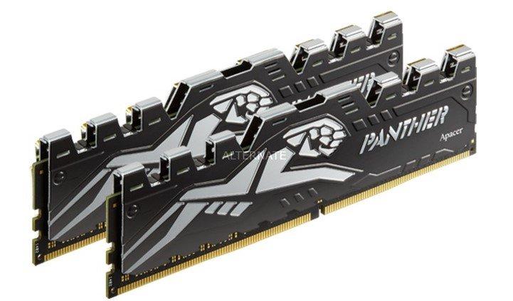 Apacer DIMM 16 GB DDR4-3200 Kit (AH4U16G32C08Y7VAA-2) für 84,89€ inkl. VSK (statt 93€)