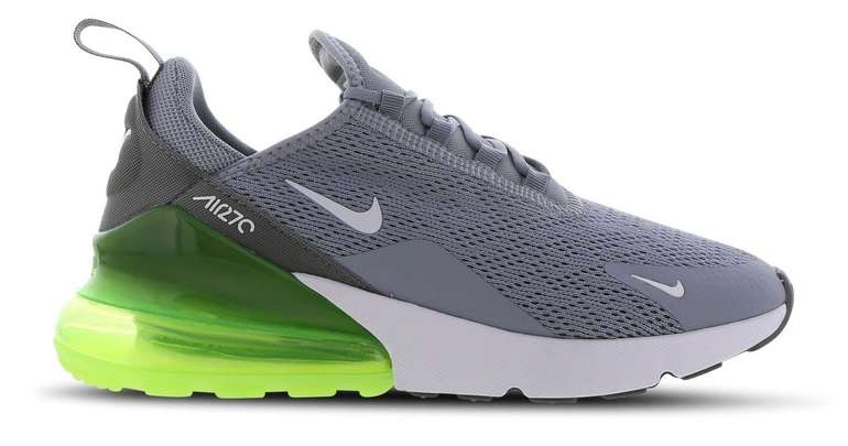 Nike Air Max 270 Damen Sneaker in obsidian mist/white/lime blast/cool grey für 89,99€