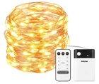 Mpow - Lichterkette mit 100 LEDs, 8 Modi & Fernbedienung für 9,59€ mit Prime