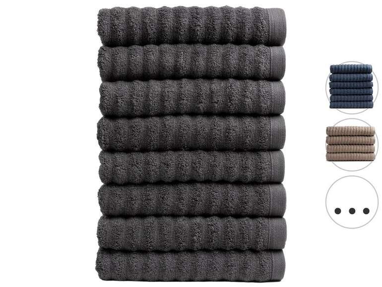 Seashell 8er Pack Handtücher Premium Wave Collection, z.B. (50 x 100cm) für je 25,90€ inkl. Versand