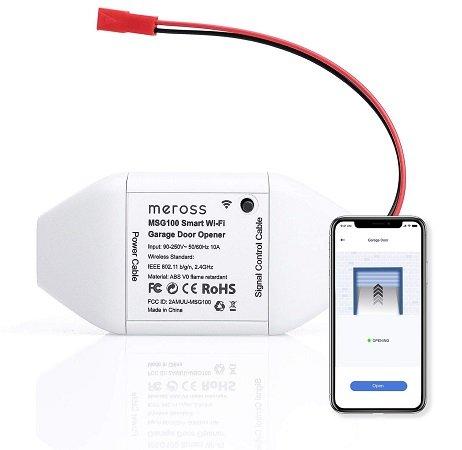 meross Smart WLAN Garagentoröffner (Alexa & Google Home komptl.) für 24,99€