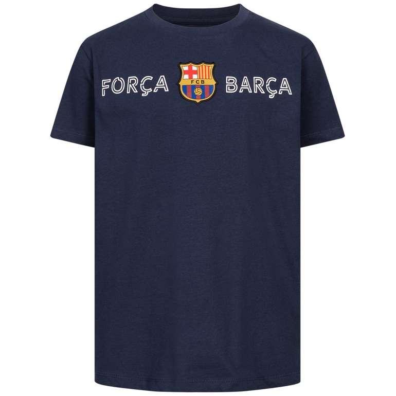 FC Barcelona Forca Barca Kinder T-Shirt für 7,30€inkl. Versand (statt 15€)