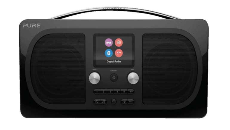 PURE Evoke H6 Digitalradio in schwarz für 105€ inkl. Versand (statt 154€)