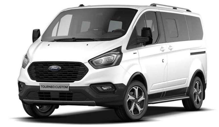 Privatleasing: Ford Tourneo Custom Active mit 131 PS für 249€ mtl. (EK: 1.120€; LF: 0,45)