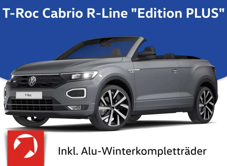 Privatleasing: Volkswagen T-Roc mit 150 PS für 299€ mtl. (LF: 0.63, Überführung: 790€)