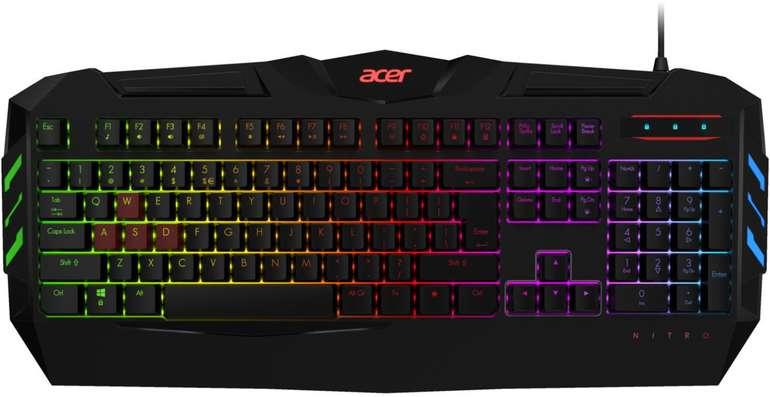 Acer Nitro Gaming Tastatur für 18,98€ inkl. Versand (statt 30€)