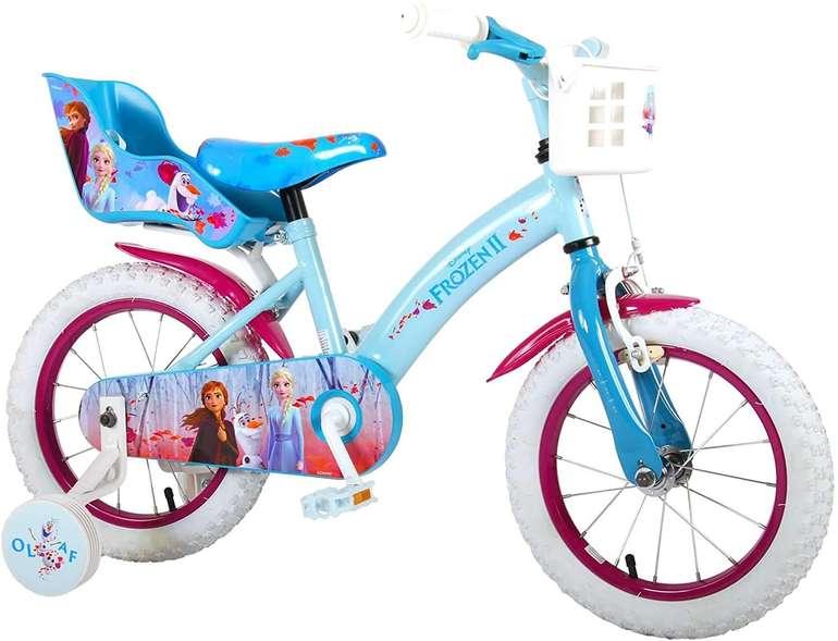 Kinderfahrrad Disney Frozen II - Die Eiskönigin 2 (14 Zoll, Rücktrittbremse) für 102,81€ inkl. Versand (statt 140€)