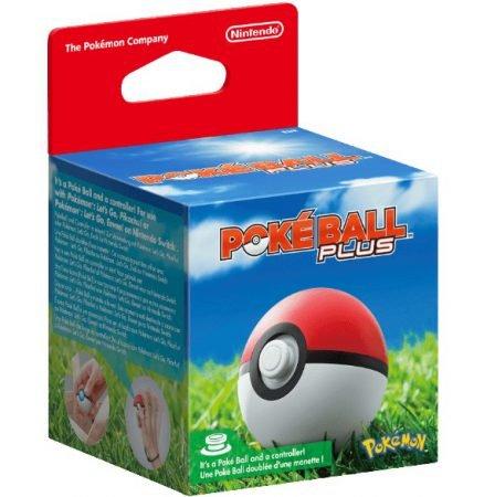 Nintendo Pokémon: Pokéball Plus Controller(Nintendo Switch) für 22€ inkl. VSK