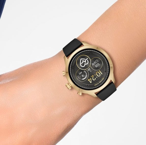Michael Kors MKT5053 Access Runway Damen Smartwatch in Gold für 148,05€ (statt 202€)