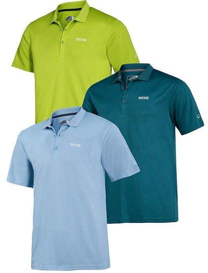 Vorteilshop: Bis zu -70% Rabatt im Regatta Sale + 25% Extra - z.B. 3er Pack Regatta Poloshirts für 37,49€