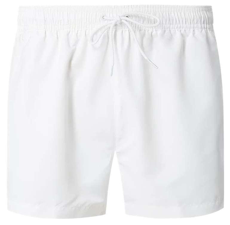Calvin Klein Swimwear Badeshorts mit Logo-Bund Herren für 13,99€ inkl. Versand (statt 48€)