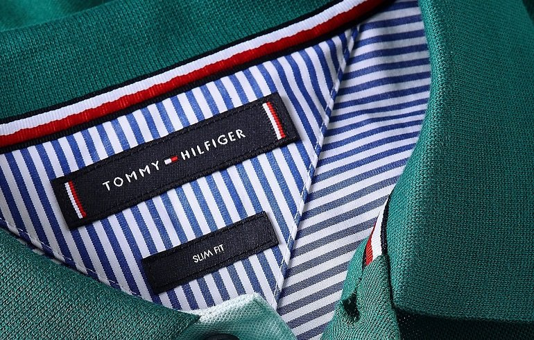 Tommy Hilfiger 1985 Contrast Placket Slim Poloshirt 2