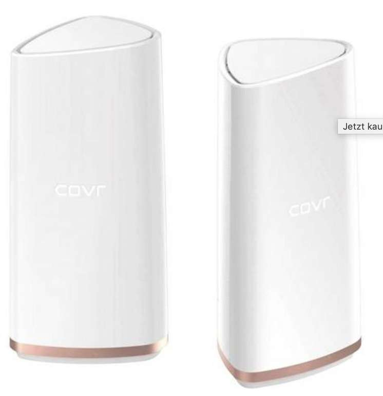 D-Link COVR AC2200 Tri-Band Wi-Fi System WLAN Repeater 2.4GHz, 5GHz für 111€ inkl. Versand (statt 164€)