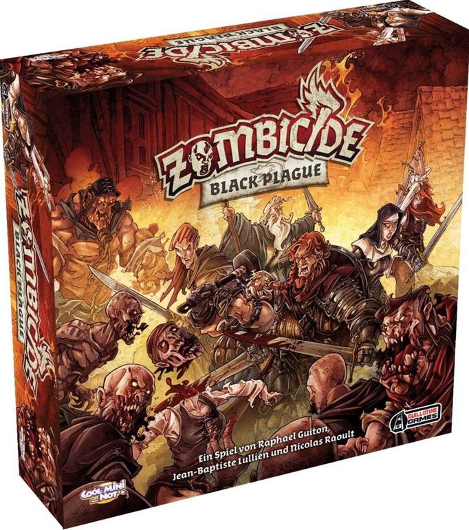 Zombicide Black Plaque - Brettspiel für 59,98€ inkl. VSK (statt 71€)