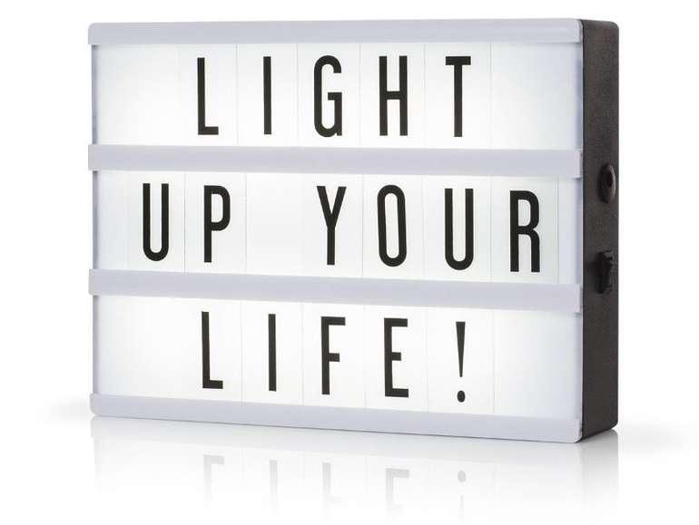 Deko LED Lichtbox A5 für 9,99€ inkl. Versand (statt 15€)