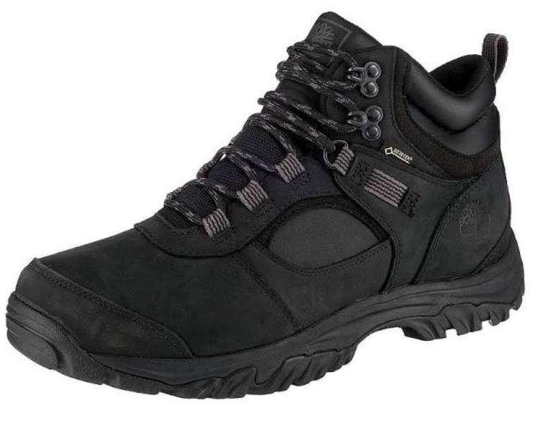 Timberland Mt. Major Mid Leather GTX schwarz Herren Schnürstiefeletten für 62,95€ inkl. Versand (statt 80€)