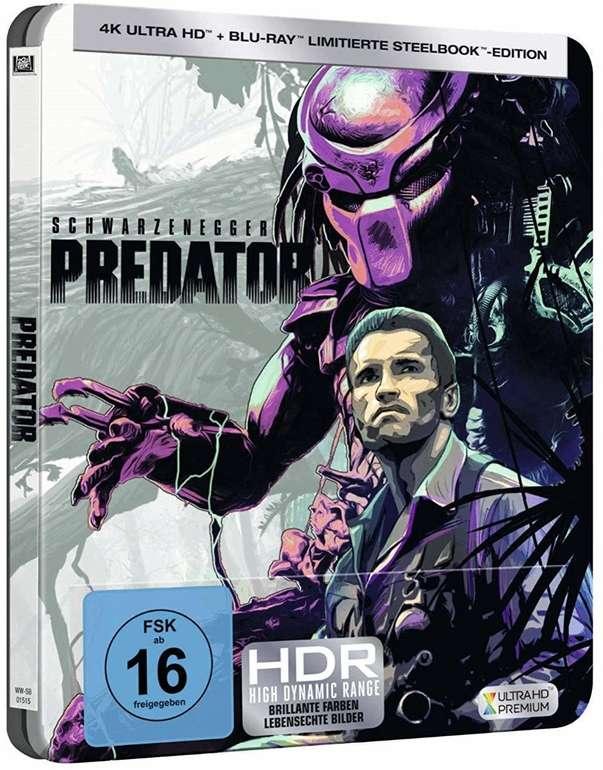 Predator (Limited Steelbook) 4K Ultra HD auf Blu-ray für 19€ (statt 29€)