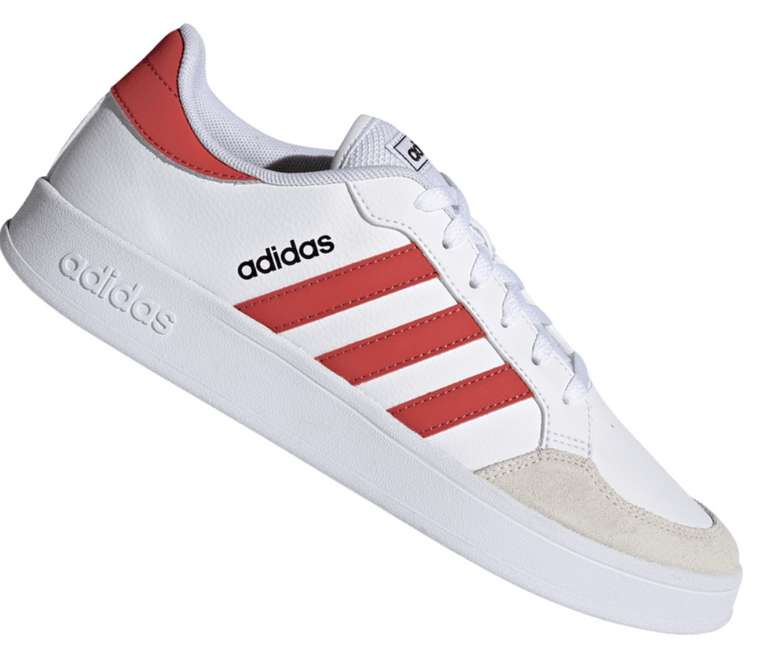 adidas Freizeitschuh Breaknet weiß/rot für 33,95€inkl. Versand (statt 46€)