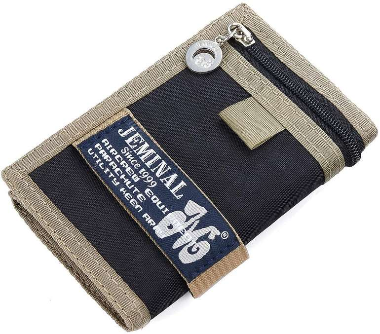 Joseko Herren Geldbörse mit Klettverschluss (5 Farben) für je 9,59€ inkl. Prime Versand