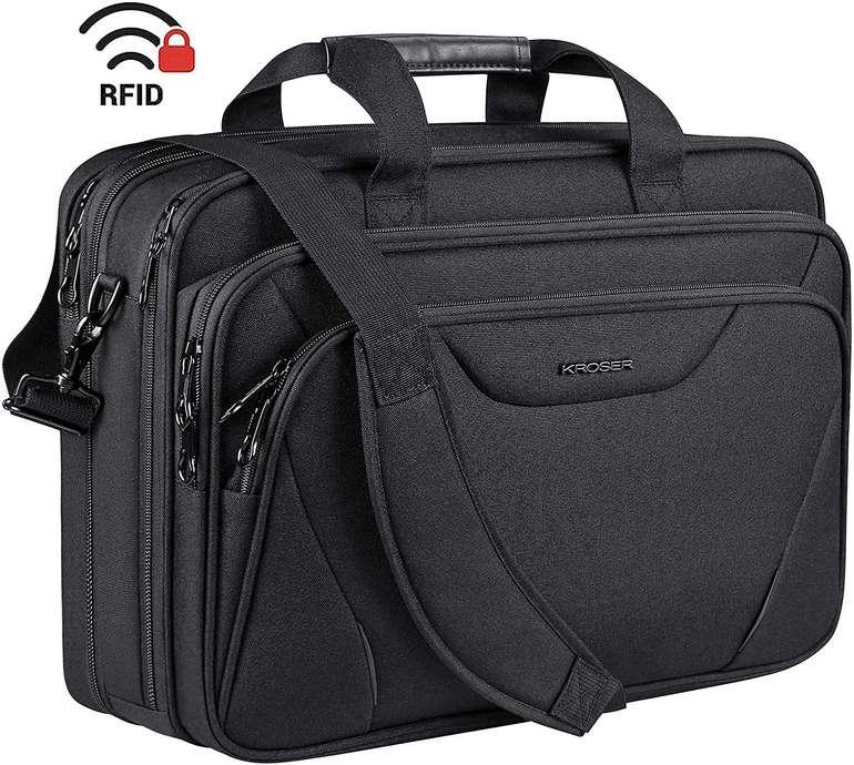 Kroser - 18 Zoll Business Laptop Umhängetasche für 25,99€ inkl. VSK