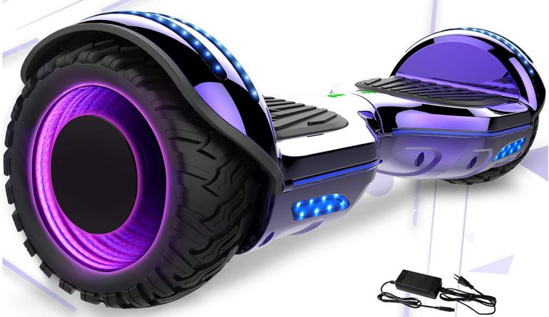 Mega Motion Hoverboard mit LED Beleuchtung für 198,99€ inkl. Versand