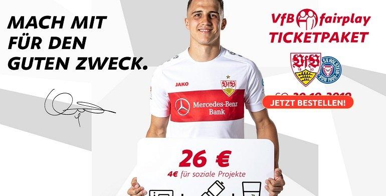Charity-Ticket-Aktion VfB Stuttgart