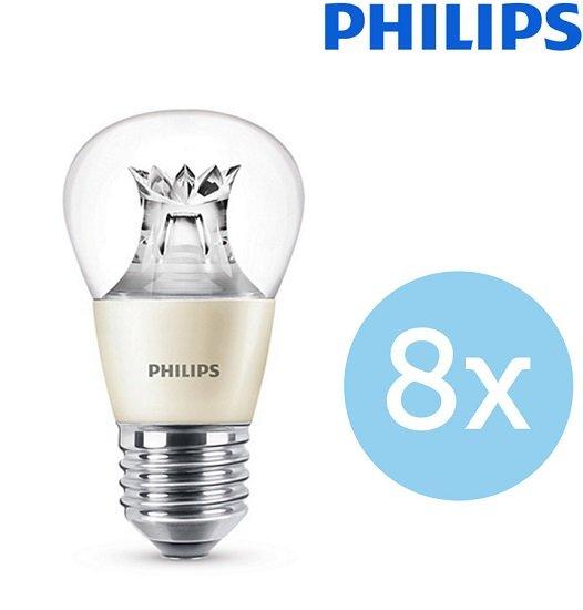 8er Pack Philips P48 LED E27 Lampen für 25,90€ (statt 30€)