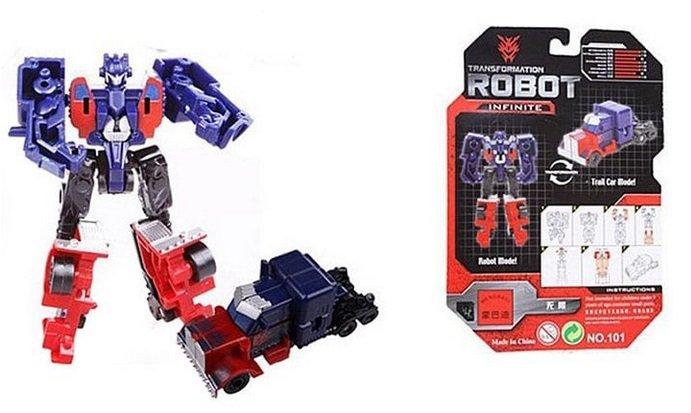101 Mini Transformer Robot Model Spielzeug Infinite für 0,56€ inkl. VSK