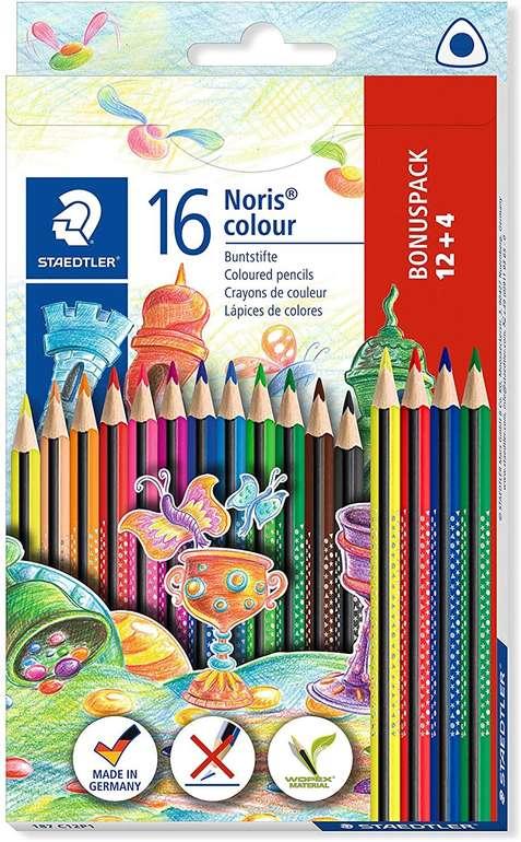 Staedtler 187 C12P1 -  Noris Colour Buntstift (erhöhte Bruchfestigkeit, Dreikantform) für 2,49€ mit Prime Versand