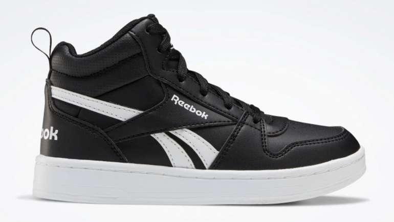 """Reebok """"Royal Prime Mid 2"""" Jungen Schuhe in schwarz-weiß für 27,26€ inkl. Versand (statt 35€)"""