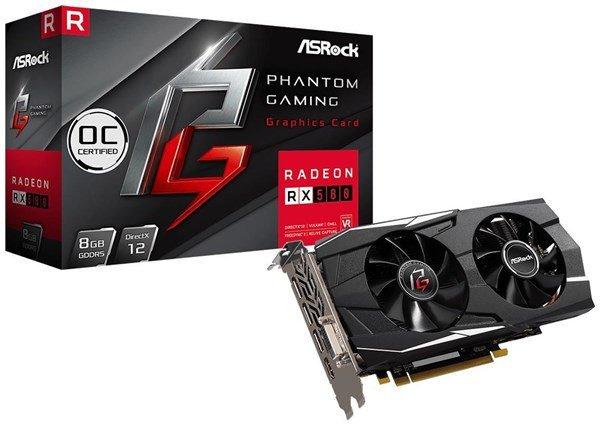 ASRock Radeon RX 580 8GB Phantom Gaming Grafikkarte für 139,12€ inkl. VSK