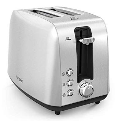 Homgeek 2 Scheiben-Toaster mit Krümelschublade für 19,71€ inkl. Versand