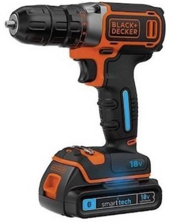 Black & Decker BDCDC18KST 18 Volt Akku-Bohrschrauber für 79,99€ inkl. Versand