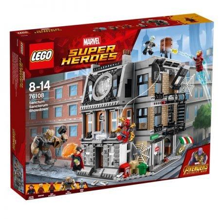 Lego Set Marvel Super Heroes (76108) - Sanctum Sanctorum für 79,99€ (statt 96€)