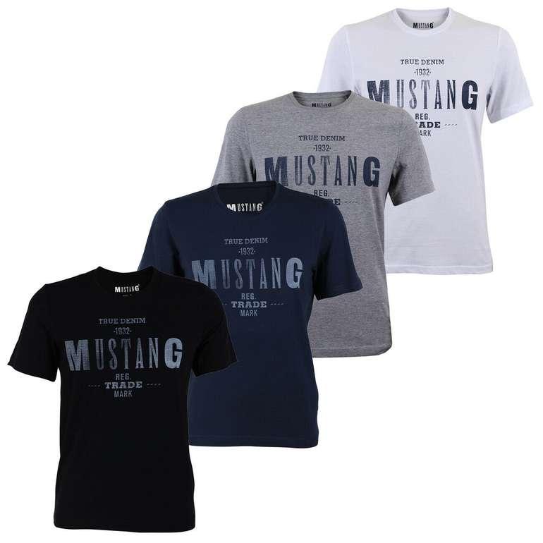 Mustang Herren T-Shirt Tee - Basic Print für 13,56€ inkl. Versand (statt 19€)