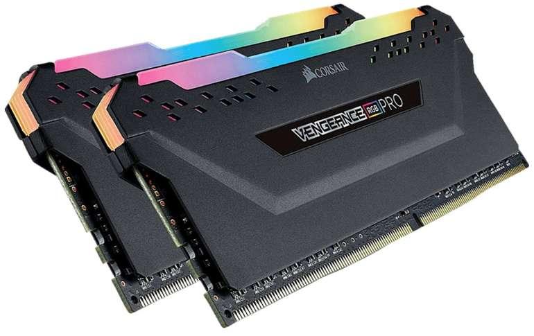 Corsair Vengeance RGB Pro 16GB DDR4 Arbeitsspeicher für 69,99€ inkl. Versand (statt 80€)