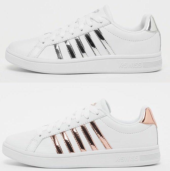 K-Swiss Court Tiebreak Damen Sneaker in zwei Farben für je 43,99€ inkl. Versand (statt 57€)