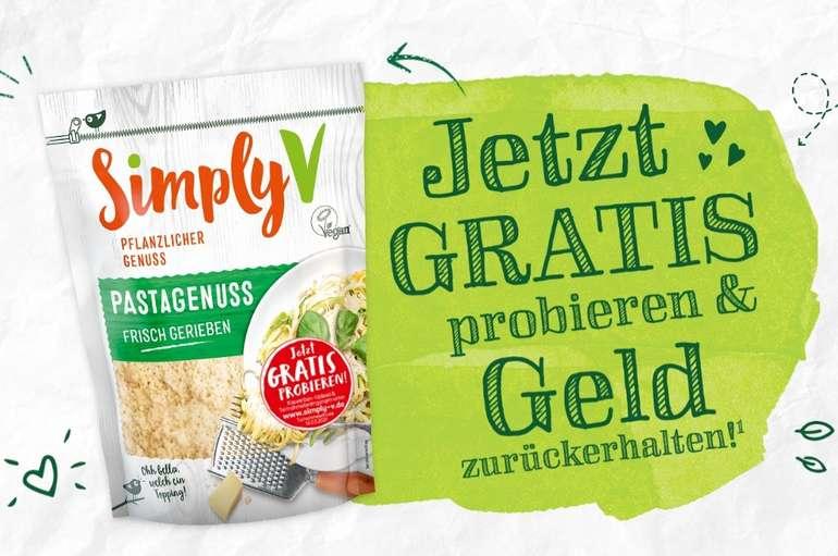 Simply V Pastagenuss gratis testen dank Geld-zurück-Garantie (GzG)