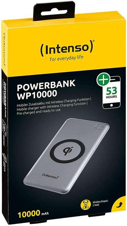Intenso Powerbank WP 10000 (10000mAh, Qi-fähig) für 14,99€ inkl. Versand (statt 21€)