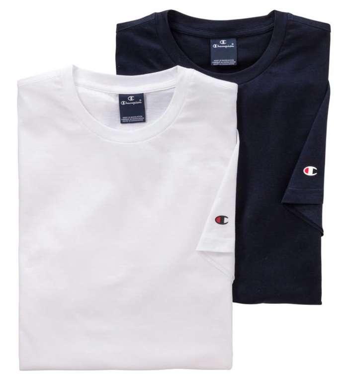 4er Pack Champion Unisex T-Shirts für 39,98€ inkl. Versand (statt 50€) + Nordcap Rucksack