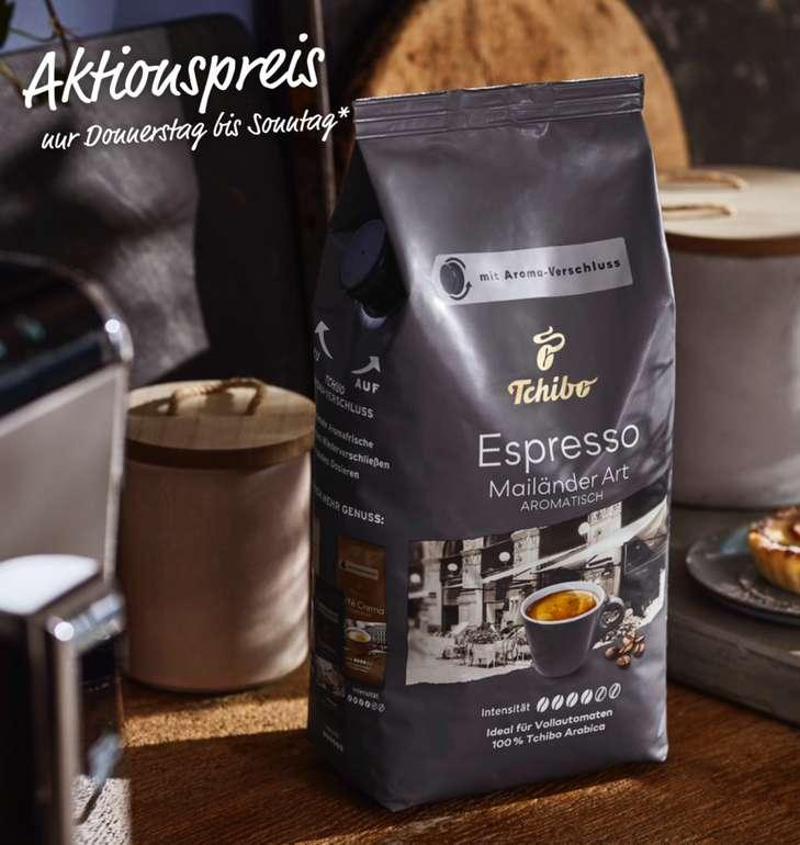 Tchibo: 1 KG Espresso Mailänder Art ab 9,99€ (statt 13€) - 3 KG für 29,97€ inkl. Versand (statt 104€)
