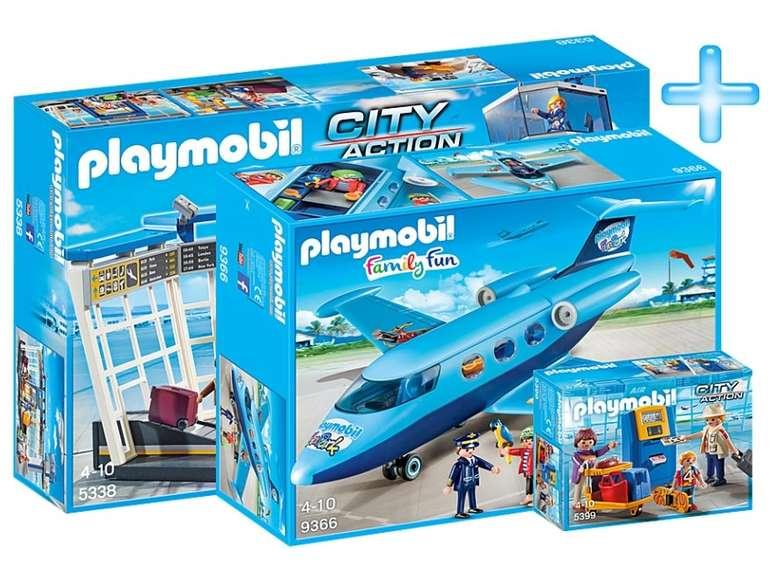 Playmobil Bundle City Flughafen für 44,99€ inkl. Versand