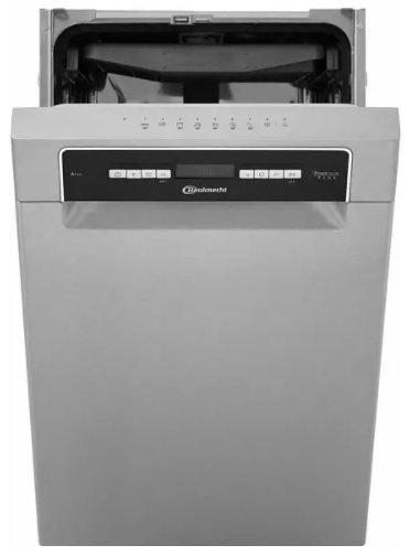 Bauknecht Bsuo 3O33 PF X Geschirrspüler (unterbaufähig, 450 mm breit, 43 dB, D) für 359,40€ inkl. Versand (statt 441€)