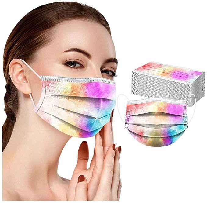Huyuri 50er Pack Einweg Mund-Nasen-Masken (verschiedene Farben) für je 7,99€ inkl. Versand (statt 11€)